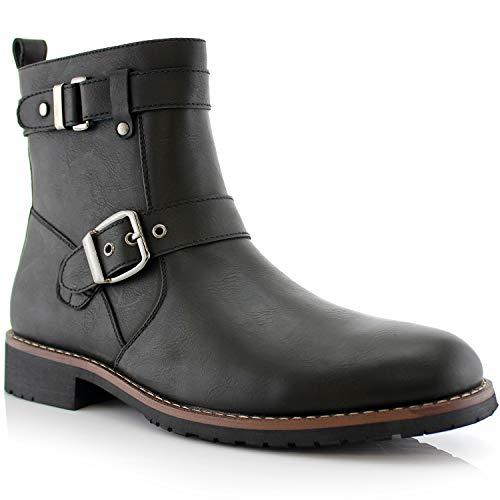 * Best Value * Polar Fox Wyatt Men's Motorcycle Boots. Sizes 7 to 14