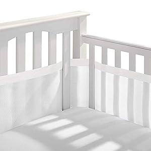 Protector Cuna, Protector Para Bordes De Cuna (470 * 30cm) Cuna Baby Protector De Bordes Cama