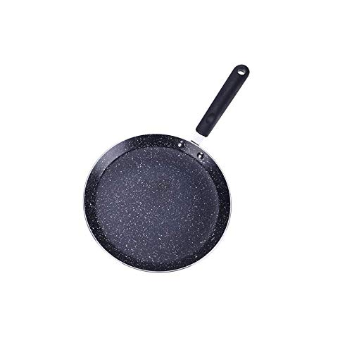 WSJTT Cookware - Pre-Seasoned Cast Iron Combo CookerElectric Grill Frying Pans Pan Non-Stick Baking Pan Layer for GasElectricInduction HobsOven SafeOutdoor Cooking Size  Size 24cm