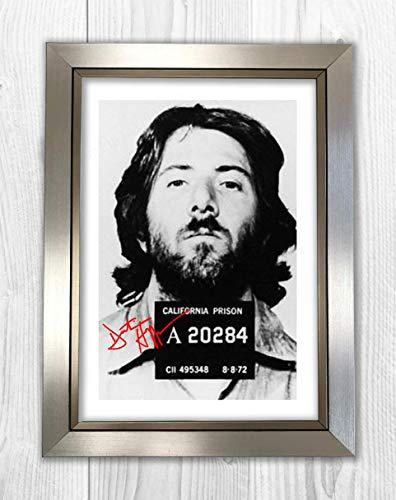Good With Wood Yorkshire Dustin Hoffman - Taza de reproducción fotográfica (A4,...