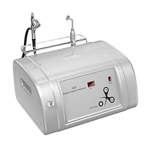 Rociador de oxígeno de agua hidratante hidratante para el rejuvenecimiento de la piel Máquina de cuidado de la piel facial limpiador de poros de la espinilla(EU)