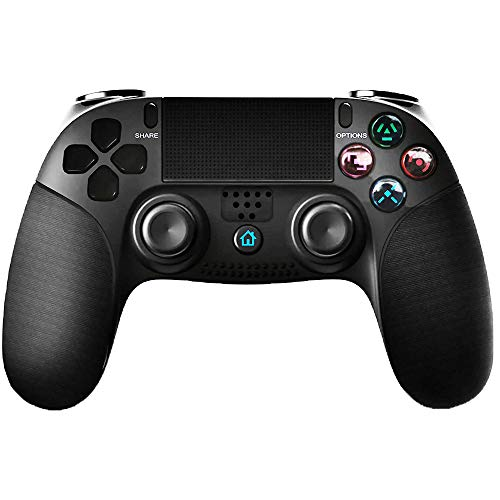 Controller for PS4, Gamory Wireless Controller for Playstation 4/PS4 Pro/Slim, Motion Control, Touch Panel Gamepad with Dual Vibration and Audio Function, Anti-Slip Grip and Mini LED Indicator