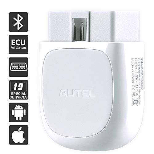 Autel MaxiAP AP200 obd2 bluetooth Adapter,Fehlercode von alle System auslesen,Sonderfunktion für Öl SAS EPB DPF BMS IMMO und TPMS, OBD2 bluetooth Diagnosegerät.geeignet für IOS und Android