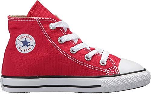 Converse Chuck Taylor All Star Core Hi, Sneaker Unisex Ragazzi, Rosso, 22