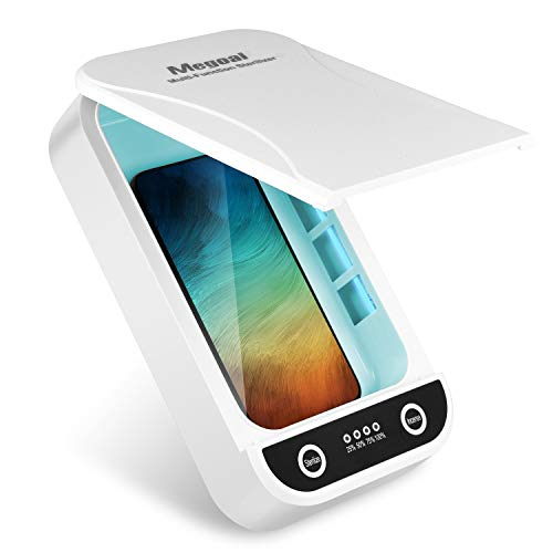 Megoal Cell Phone Cleaner Box Smart Phone Cleaner Box for Cellphone Jewelry Credit Card Watch Keys