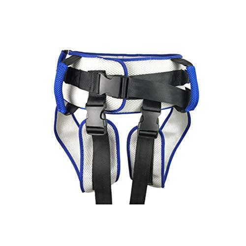 HEALLILY HEALILY Cinturón de Transferencia con Perneras Ayuda para Paciente Transferencia Sling Dispositivo de Asistencia de Marcha de Seguridad de Enfermería para Ancianos (azul)
