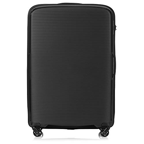 Tripp Black Escape Large 4 Wheel Suitcase