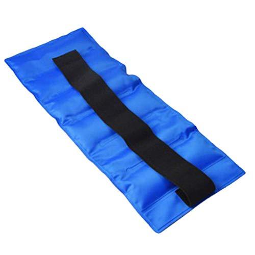 Calayu koud-warm-compressor herbruikbaar flexibel gel-compressiepakket voor koel- en warm, koelkussen met elastische banden