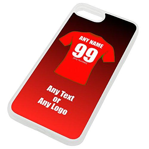 UNIGIFT persoonlijk cadeau - Wales iPhone hoesje (Rugby League ontwerp kleur) - Naam/boodschap op uw unieke mok - De draken
