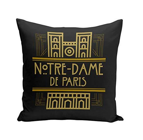 Fabulous Coussin 40x40 cm Notre-Dame de Paris France Luxe Style Architecture