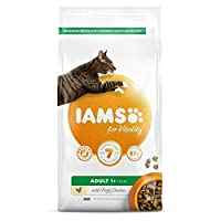 Cat food with 87% animal protein for healthy vitality. Wheat free without fillers, artificial colours, flavours or GMOs. Antioxidant blend with vitamin E to support your cat's immune system. Crispy pieces and tailored minerals for healthy teeth. Comp...