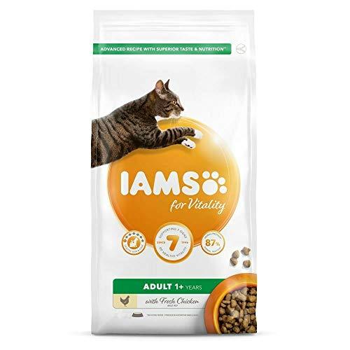 IAMS Adult Vitality Huhn Katzen-Trockenfutter (2kg) (kann variieren)