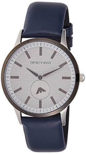 Emporio Armani Reloj Analogico para Hombre de Cuarzo con Correa en Cuero AR11119