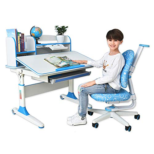 Buy Quisilife High Chair, Desk Chair Set Multi-Functional Desk and Chair Set Childen Kids Study Tabl...
