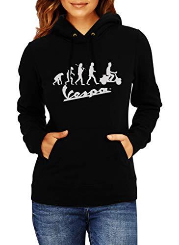 Sudaderas con Capucha Vespa Evolution Logo Women Mojer...