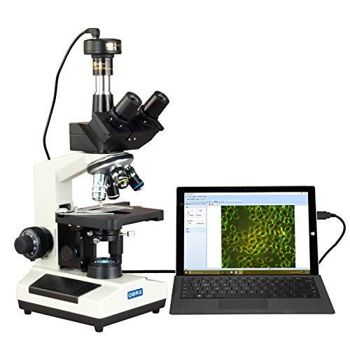OMAX 40X-2000X Compound Advance Darkfield Trinocular LED Microscope with 10.0MP Digital Camera