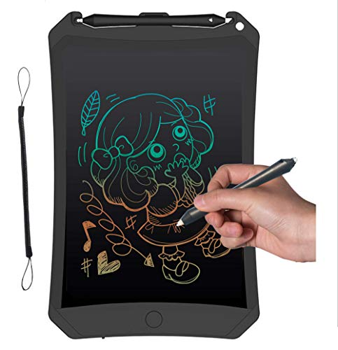 Emwel Maltafel - Maltafel Zaubertafel Writing Tablet LCD Writing Tablet Kinder Malen Bunte LCD SchreibtafelElektronisches Zeichenbrett und Maltafel Zaubertafel für Kinder & Erwachsene