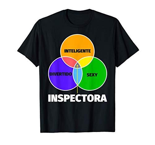Inspectora regalo divertente - inteligente sexy divertente Camiseta