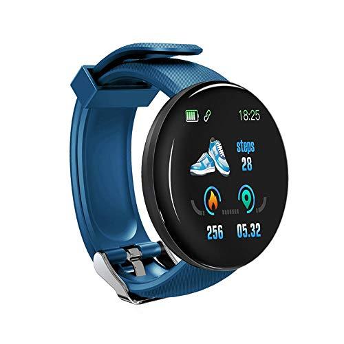 Perfuw Waterproof Smart Watch, Multifunktionale Digitaluhr Herzfrequenzmessung, Staubdichte Uhr Anrufbenachrichtigung Lange Bereitschaftszeit, Für Frauen Männer Sportgeschenke