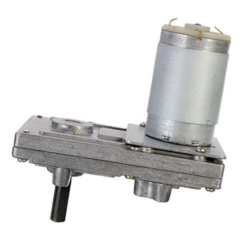 KAIBINY 12 / 24V DC motorreductor de Corriente Continua de Velocidad del Motor  Reducción Motor eléctrico 10/20/40/80 RPM