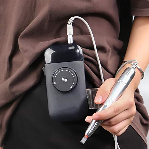 Draadloze borstelloze elektrische nagelboor vijlmachine voor acrylnagels, draagbare oplaadbare manicure pedicure set, trimmen en gladmaken van nagels Poolse gereedschappen, 35000 RPM