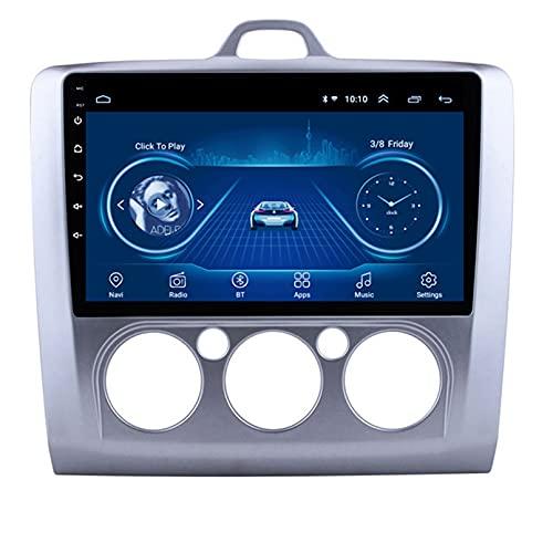 Android 10.0 8 Core Car stereo radio de navegación por satélite FM AM Autoradio 2.5D Pantalla táctil para Ford FOCUS 2006-2014 Navegador GPS Bluetooth WIFI GPS USB SD player(Color:WIFI 2G+32G)