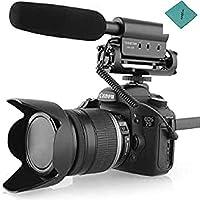 Produktmerkmale: speziell für die Kamera und hohe-Empfindlichkeit Kondensatormikrofon, die Qualität der Aufnahmen zu erweitern. Baukonstruktionen stoßfest-beständig, die mechanische Geräusche der Kamera und anderen reduziert Geräusche vibration. Die ...