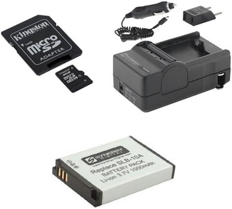 Detroit Mall Samsung WB350F Digital Camera Accessory Kit B Super beauty product restock quality top SDSLB10A Includes: