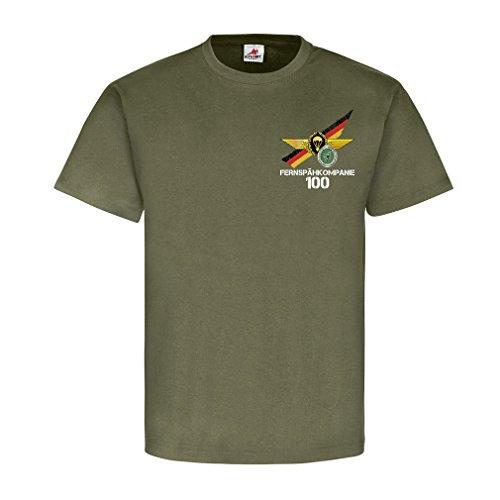 Copytec Fernspähkompanie 100 Veteran FeSpähKp Fallschirmspringerabzeichen Einzelkämpfer Bw Bund Fernspäher Abzeichen #21716, Größe:L, Farbe:Oliv
