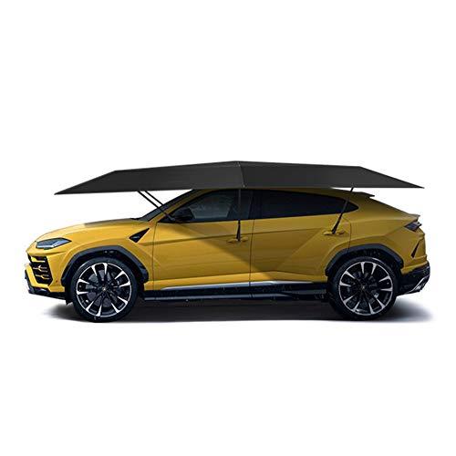 WYW 2021 New Car Cover Universal Car Tent Sun Shade 4.5 * 2.3M Vehicle Picnic Umbrella Cover UV Waterproof Oxford Cloth Sun Shade