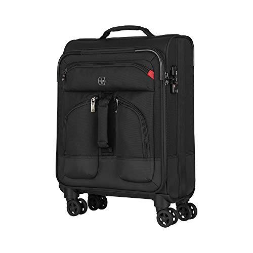 Wenger Deputy 20' Softside Luggage Carry-On Suitcase, 54 cm, 48 L, Black