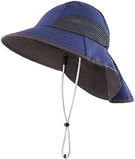 Connectyle Kids Wide Brim Neck Flap Sun Protection Hat...