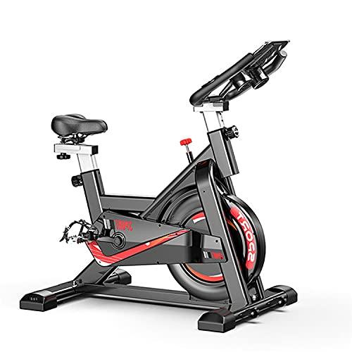 Bicicleta Spinning Saman. Bicicleta con Volante de inercia de 8kg Resistencia de 24kg. Pantalla LCD con pulsómetro. FitnessTech