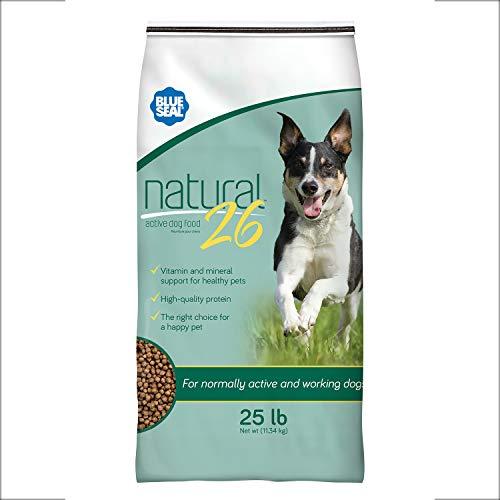 Blue Seal Natural 26 Active Dog Food - 25lb Bag