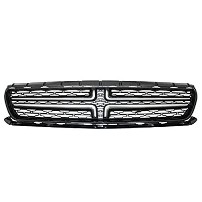 NewYall Front Radiator Upper Grille Chrome