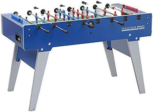 ahorra hasta un 30-50% de descuento Garlando Master Pro - Mesa de de de fútbol para Interiores (Talla única), Color azul  selección larga