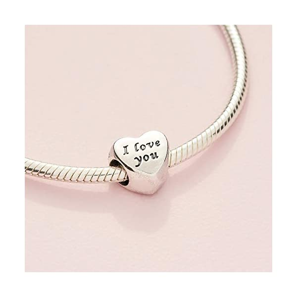 Pandora Jewelry Words of Love Sterling Silver Charm