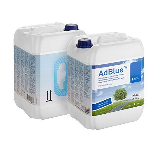 A&G-heute AdBlue 20l Hochreine SCR Harnstofflösung 2x10 Liter mit Ausgießer Reduktion aus Abgasen von Stickoxiden für alle Automarken im Kanister