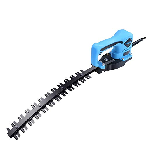Tondeuse électrique haie, tenu à la main simple ciseaux rechargeable taille-haie, Longueur de la lame 36.5cm (12ah Batterie au lithium) (Color : Machete)