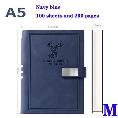 yangdan HF - Cuaderno de notas de negocios (formato A5), diseño retro