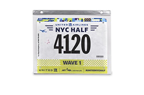 Bibfolio Race Bib Display Vinyl Protector Sheets | Designed by Gone For a Run | 2 Pack (12 Vinyl Sheets/Pack) - 24 Sheets