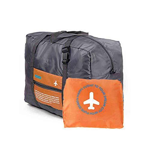 Elenxs Carry Plegable de almacenaje de la Ropa del tamaño Grande de Petate de Viaje del Equipaje