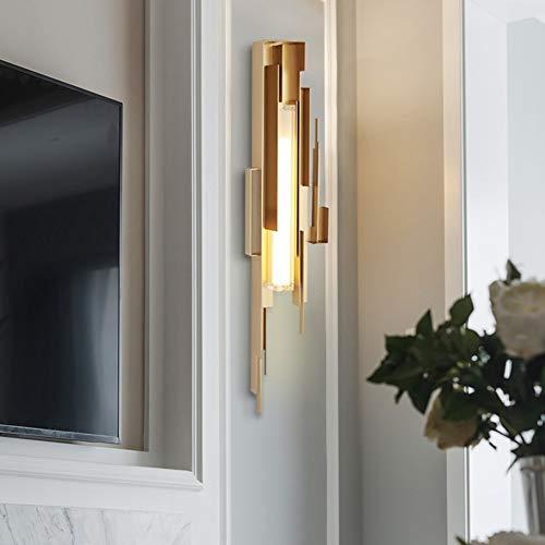 L.L.QYL Wandlampe Komplette Kupferwandleuchte Hotel Bar Villa Wandleuchte Creative-D200 * H800 (mm)