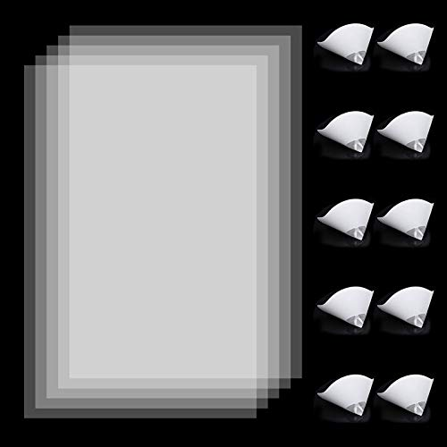 FEP Folie Release Film 5 PCS 200x140mm, 10 PCS Papier-Trichter, Harzfilter Zum Einfachen Ausgießen Von Harz In Flaschen für LCD 3D Drucker Zubehör