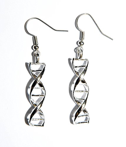 DNA Strand Dangle Earrings