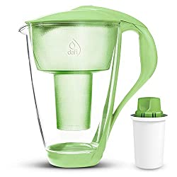glass alkaline water pitcher