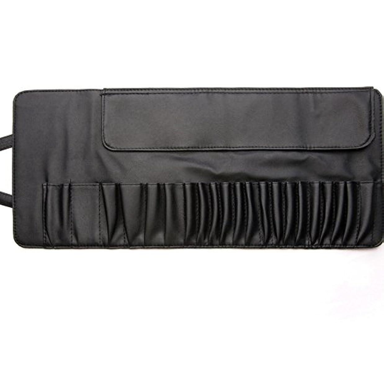 MakeupAcc メイクブラシケース 化粧筆収納ポーチ 高級PU 10本12本20本収納 (L) [並行輸入品]