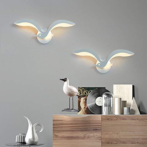 DAMAI STORE Minimalist Modernes Kreative Nachtwandlampe Wohnzimmer Flur Essterrasse Treppe Wandleuchte LED-Wand-weiches Auge (35 * 15 cm)