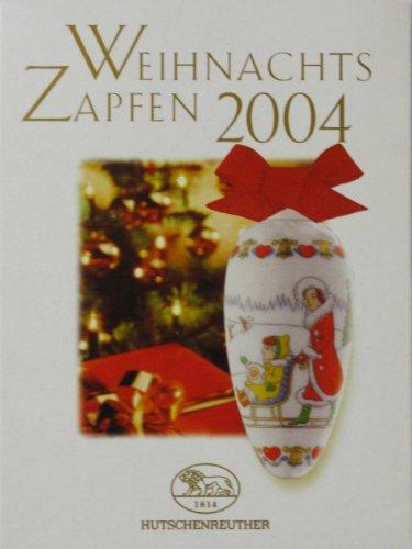 Hutschenreuther Weihnachts-Zapfen 2004 Porzellan