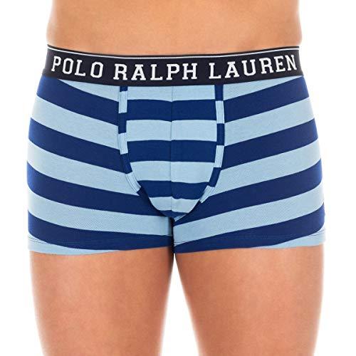 Ralph Lauren boxershort voor heren, gestreept, koningsblauw en hemelsblauw